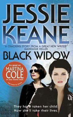 book cover of     Black Widow      (Annie Carter, book 2)    by    Jessie Keane