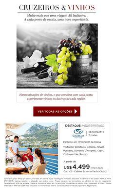 Cruzeiros e Vinhos