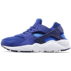 Nike Air Huarache Junior ($43) ❤ liked on Polyvore featuring royal blue
