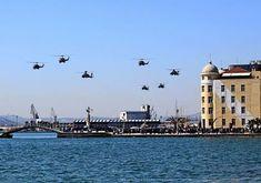 Nice helicopter formation over Volos, Hellas, on 25 March 2018  Myvolos.net - Nikolas Filaretos !!! | Facebook