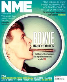 NME Magazine cover, David Bowie, January 19th 2013