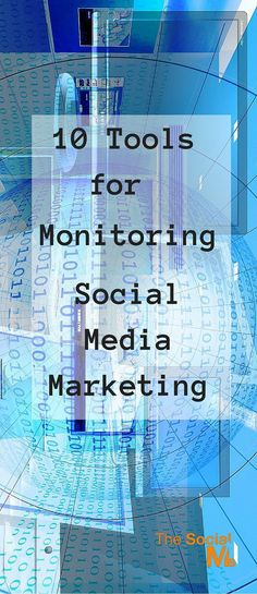 Tools can help you with monitoring social media. With these tools you can gather and analyze your social media marketing efforts.