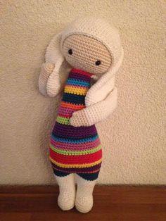 RITA the rabbit made by Inge Q. / crochet patern by lalylala