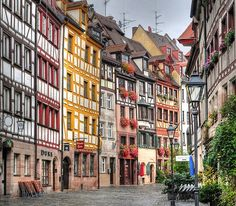 A street in Nuremberg, Germany