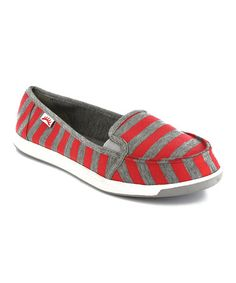 Take a look at this Red Alcatraz Slip-On - Women by Gotta Flurt on #zulily today!