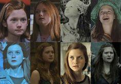 Harry Potter Tumblr, La Saga Harry Potter, Harry Potter Actors, Harry Potter Fandom, Bonnie Wright, Bonnie Francesca Wright, Ginny Weasley, Hermione Granger, Skai Jackson