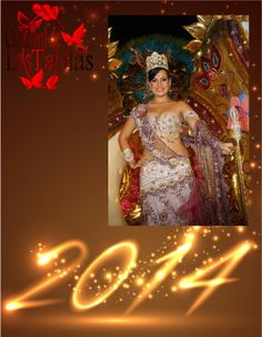 Noris Edith Vasquez Reina de Calle Abajo le da la bienvenida al #AñoNuevo 2011.
