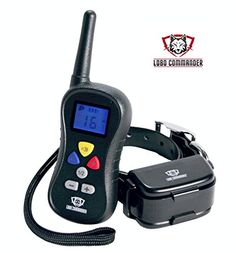 Lobo Commander Waterproof Rechargeable Wireless 400 Yard Electronic Dog Training Collar with Remote ** Want to know more, click on the image.