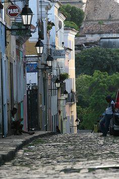 Pelourinho in downtown Salvador...one day.