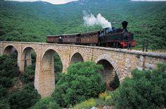 Photo - Permalink  Pelion railway (Thessaly)       Pelion railway was a narrow gauge (600 mm (1 ft 11 5⁄8 in)) railway line of Thessaly Railways