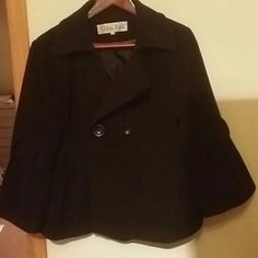 Black jacket with bell sleeves Miss Posh size large, black jacket with bell sleeves Miss Posh Jackets & Coats