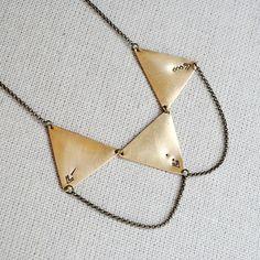 Take Aim Necklace - Seaworthy