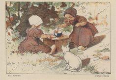 """NBvK 1930 kaart 3 """"papje koken"""""""