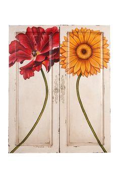 Hand painted doors