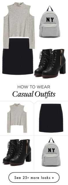 """""""Casual"""" by acyoyo on Polyvore featuring Balenciaga, Joshua's, women's clothing, women, female, woman, misses and juniors"""