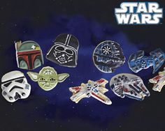 Williams-Sonoma Heroes and Villains Star Wars Cookie Cutters!