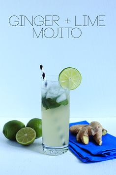 Ginger + Lime Mojito | The Band Wife