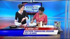 Thanksgiving Dressing on WSFA News Alabama Live - Stacy Lyn Harris