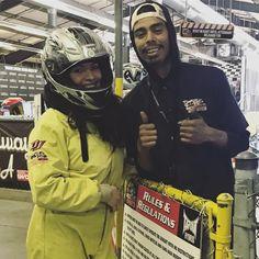 いいね!16件、コメント2件 ― Celina Martinez Medinaさん(@celinamartinezmedina)のInstagramアカウント: 「Fun first time experience #gokartracing #racing #genewoodsracingexperience #firsttime…」