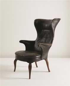 FRITS HENNINGSEN  Wingback armchair, ca. 1935
