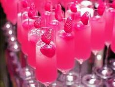 pink drink (non alcoholic) Baby shower
