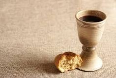Chalice with wine and bread. Background with copy space - Stock Photo , Maundy Thursday Service, Communion Wine, Communion Bread And Wine, Youth Bible Study, Feasts Of The Lord, Strong Drinks, First Communion Invitations, Last Supper, Eucharist