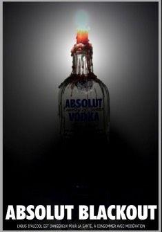 Blackout - unknown Source, Mag.-Ad from France