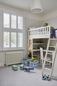 Lillyville by Plantation Shutters Ltd Home, House Styles, Interior Window Shutters, Interior, Scandinavian Style, White Shutters, Beautiful Homes, White Room, Home Styles