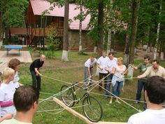 Bicycle (Minutes To Win It Games Hula Hoop)