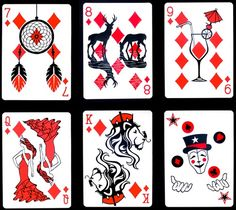 Playing Card Designs | Artist Emmanuel Jose has designed a deck of playing cards using ...