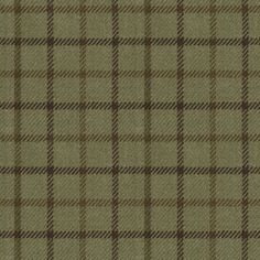 Gauciel Tattersal - Green - Haberdashery - Fabric - Products - Ralph Lauren Home Chair Fabric, Drapery Fabric, Calico Corners, Ralph Lauren Fabric, Tartan Fabric, Brown Aesthetic, Haberdashery, Fabric Swatches, Green And Brown