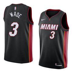 Camisetas nba nike negro Dwyane Wade Miami Heat 2018 Marca  nike Equipos   Miami Heat Jugador  Dwyane Wade Adecuado para  Hombre Estilo  camisetas nba  2017 ... 0c33a45146534