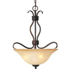 Maxim  MX 10121   3 Light Bowl Pendant from the Basix Collection - Build.com - $116.00