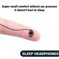 Sleep Headphones 3.5mm Type-c in-ear Music Headphones Silicone Earplug Save this photo on your board if you ❤️ it.