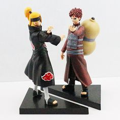 2 Pcs Naruto Deidara VS Gaara Action Figures Collectible Model Toys //Price: $20.12 & FREE Shipping //     #actionfigure