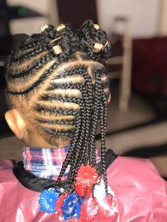 Baby Girl Hairstyles For Short Hair Little Girls Natural Hairstyles, Box Braids Hairstyles For Black Women, Lil Girl Hairstyles, Kids Braided Hairstyles, Teenage Hairstyles, Short Hairstyles, Children Hairstyles, Toddler Hairstyles, Boy Haircuts