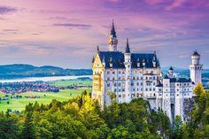 15 Fairy Tale Travel Destinations - Neuschwanstein Castle in Germany.