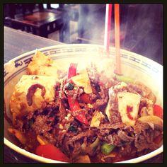 Szechuan Beef and Tofu Stirfry