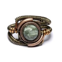 Steampunk seraphinite!  I'm drooling! julieds