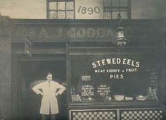 Goddards at Greenwich. Serving traditional Pie, Mash and Stewed Eels in Greenwich, London since Old London, East End London, South London, London Food, Victorian London, Vintage London, Victorian Life, London History, British History