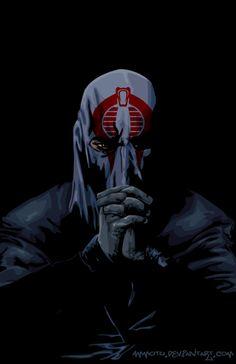 Cobra Commander - G.I. Joe by Ammotu.deviantart.com