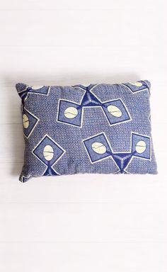 Ostrich Egg Hand-Sewn Pillow