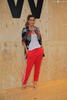 Mariana Weickert em mais um dia de São Paulo Fashion Week