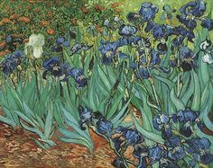 Iris - 1889 - Vincent Van Gogh