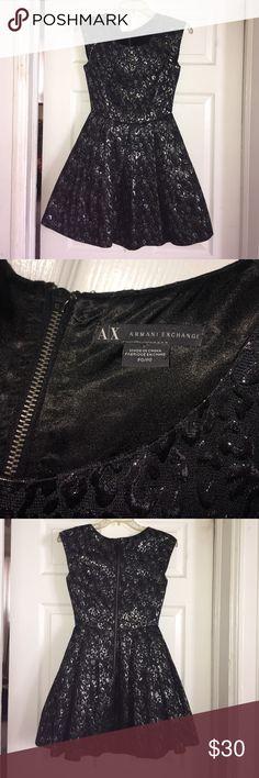 Black & Silver A|X Party Dress Black & Silver A|X Party Dress A/X Armani Exchange Dresses