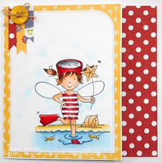 LOTV - August Fairy with Sunny Side Up Paper Pad by Jayne Rhodes
