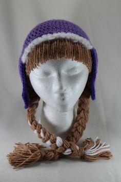 anna frozen hat | Princess Anna from Frozen Fan Art Crochet Hat