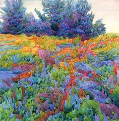 colored landscape
