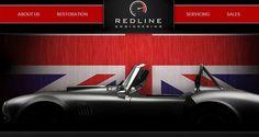 redlinepe.co.uk Header design inspiration