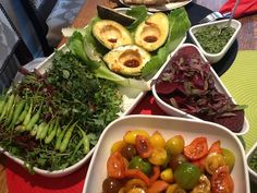 Carol Ford of Growing Direct - Avocado with Westlands Micro Leaf and Westlands Heritage Tomato Salad